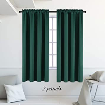 Emerald Green Blackout Curtains