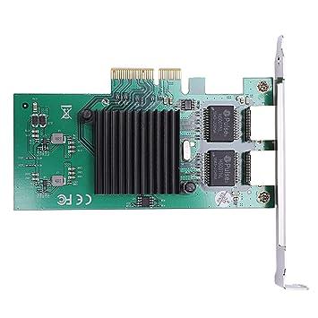 CUHAWUDBA Tarjeta De Red para Intel82575 Chipset del Servidor ...