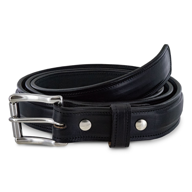USA Made 100 Year Warranty Hanks Esquire Belt 1.25 Premium Leather Belt