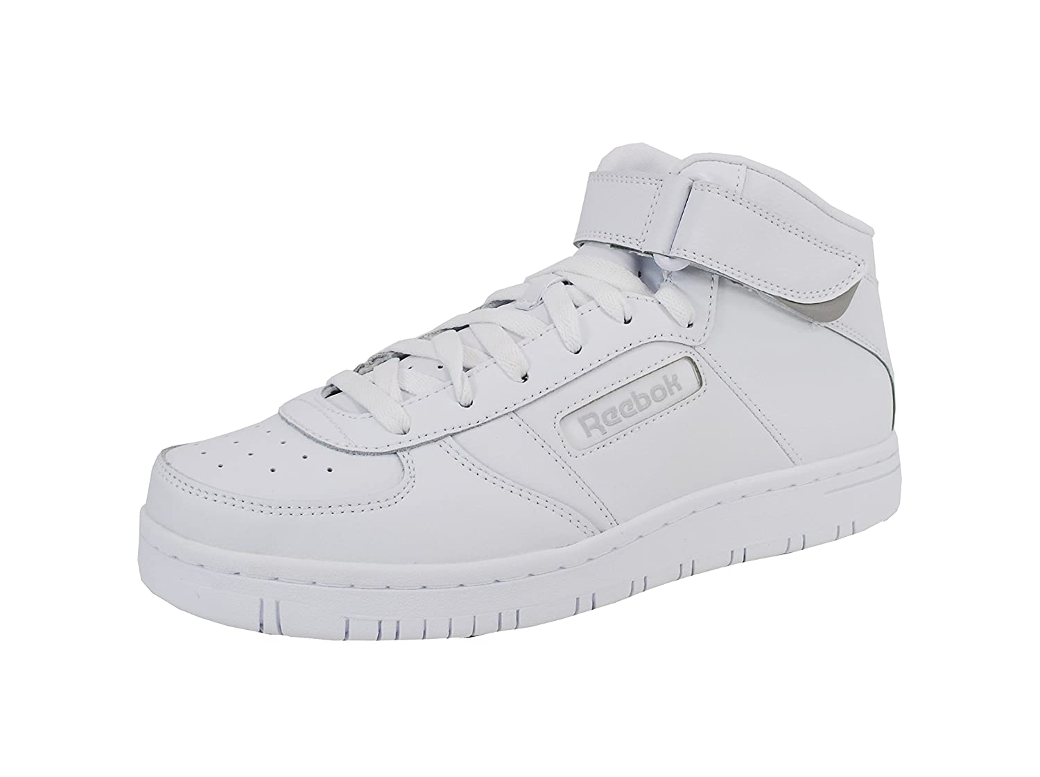 e25d22ee8100 85%OFF Reebok Classic Men s Royal Reeamaze Mid White Sneakers Shoes ...