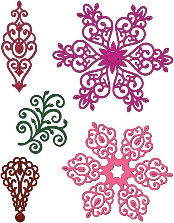 Multi-Colour Heartfelt Creations Cut and Emboss Dies 0.63 x 13.33 x 29.21 cm