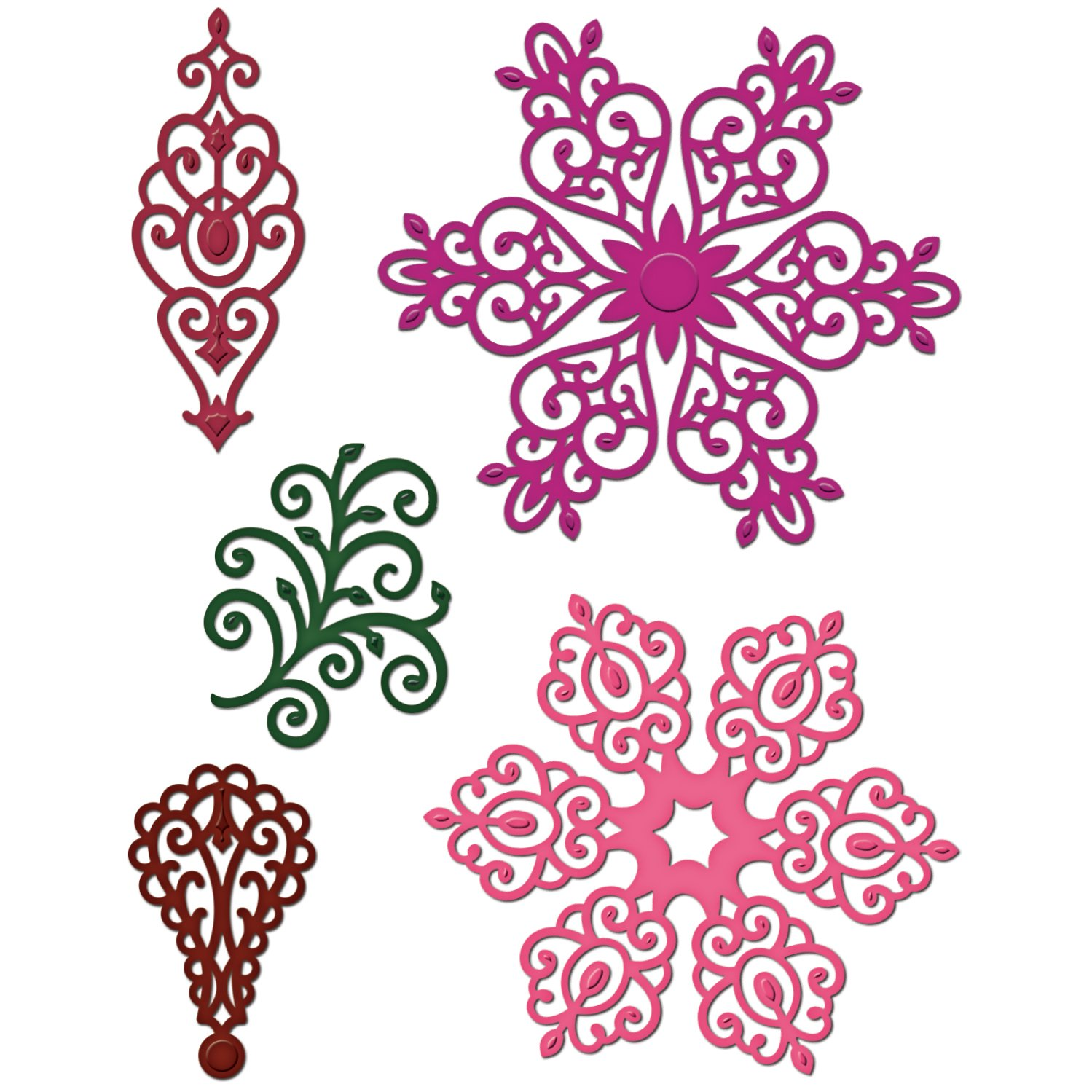 Heartfelt Creations Arianna Lace 1'' to 3.5'' Emboss Dies