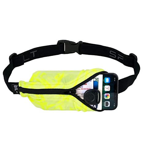 28208b3880cb SPIbelt Running Belt Large Pocket, No-Bounce Waist Pack for Runners, iPhone  6 7 8-Plus X, Made in USA for Men and Women, Workout Fanny Pack, ...