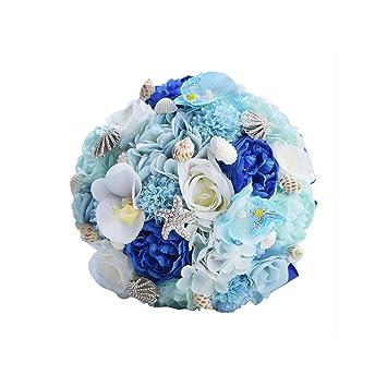 Amazon Com Cduilasufvop Romantic Wedding Bouquets For Brides
