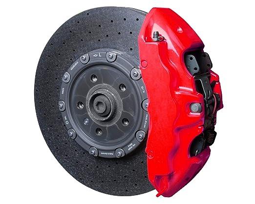 Foliatec 2185 Bremssattel Lack Set Neon Rot Amazon De Auto