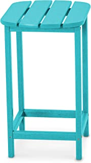 product image for POLYWOOD SBT26AR South Beach 26-Inch Counter Side Table, Aruba