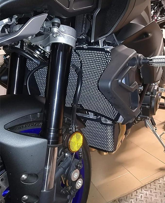 Mt10 Motorrad Kühlerabdeckung Edelstahl Kühlerschutz Schutzgitter Öl Kit Schutz Für Yamaha Mt10 Mt 10 Mt 10 Fz 10 Fz10 2016 2020 Mt 10 Sp 2016 2020 Auto