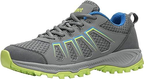 riemot Men s Women s Summer Hiking Shoes Non Slip Trail Running Sneakers Indoor Outdoor Sport Fitness Walking Shoe