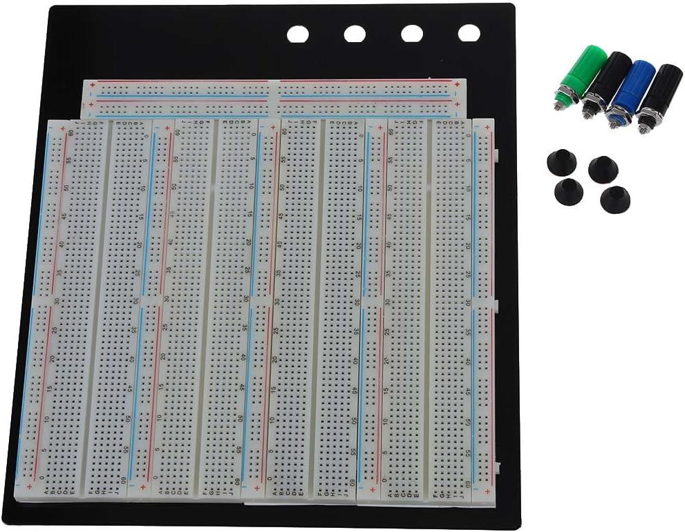 3220 Tie-Points essais sans soudure Breadboard comprend borne de liaison R TOOGOO