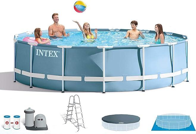 Amazon.com: Intex Prism - Set de piscina con bomba de filtro ...