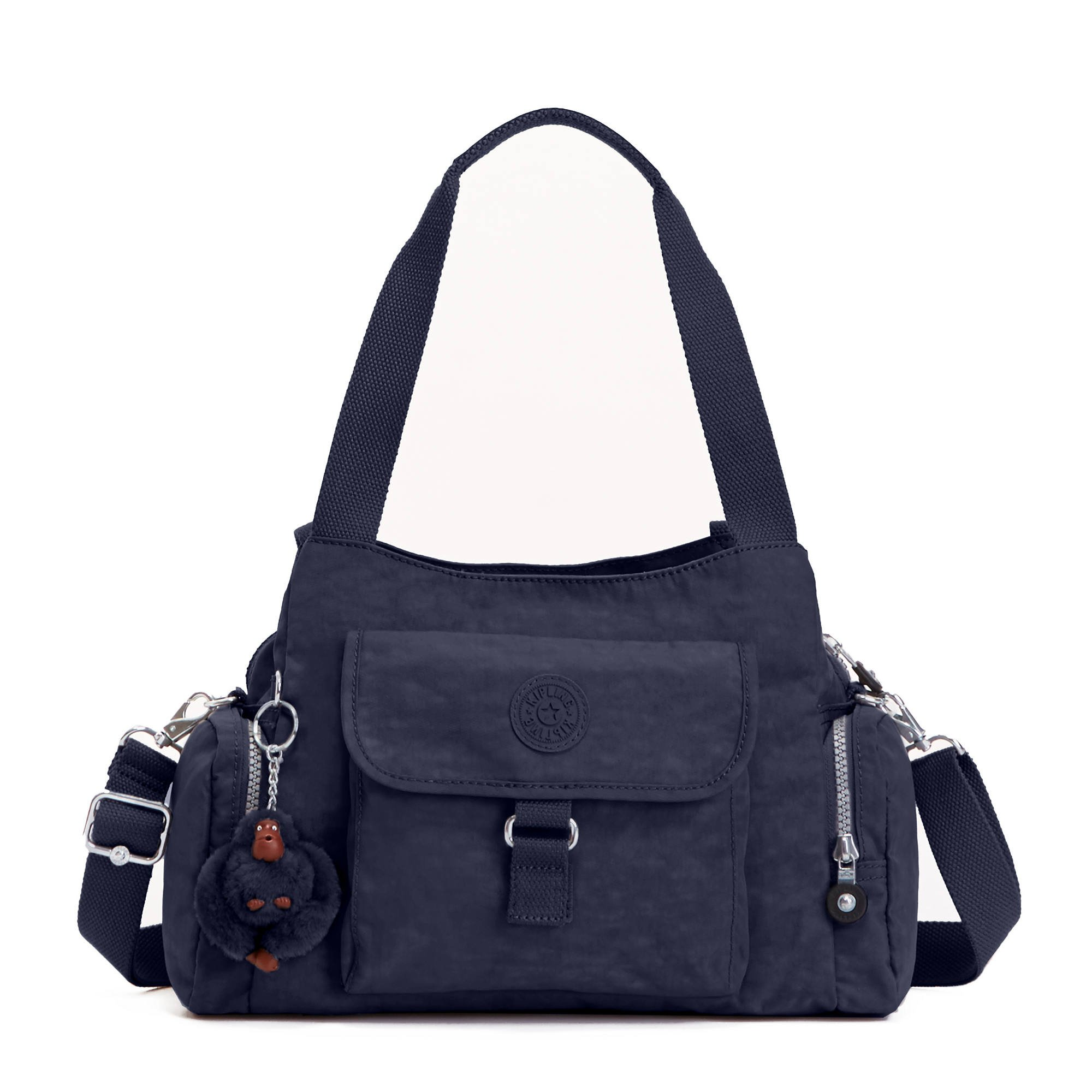 Kipling Luggage Fairfax Shoulder Bag with Removable Strap, True Blue, One Size