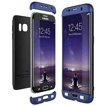 CE-Link Funda Samsung Galaxy S7 Edge, Carcasa Fundas para Samsung Galaxy S7 Edge, 3 en 1 Desmontable Ultra-Delgado Anti-Arañazos Case Protectora - ...
