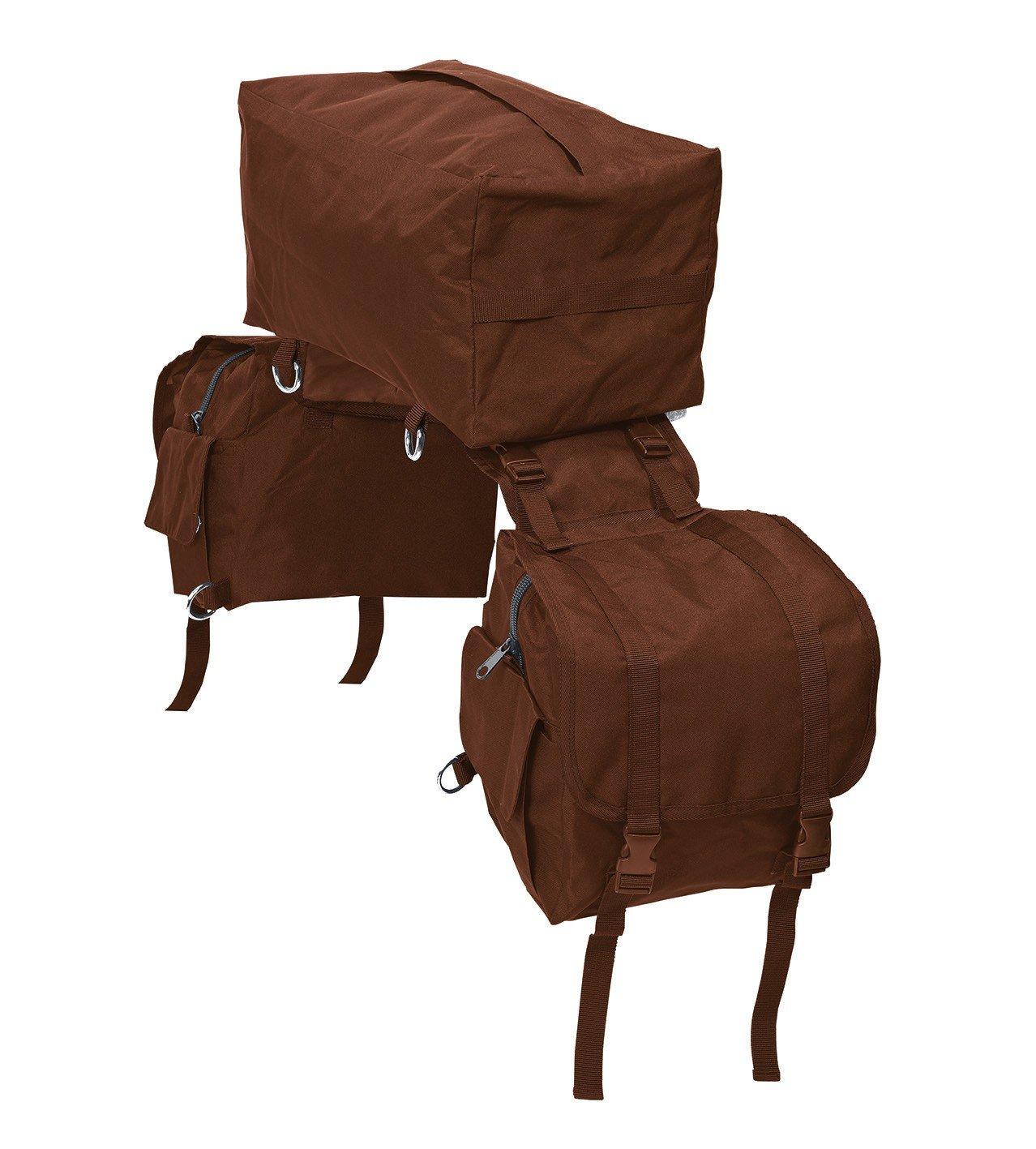 Saddle Bag 3-in-1, STANDARD, black