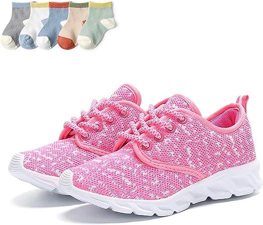 XFQ Unisex Kids Running Shoes, Girls