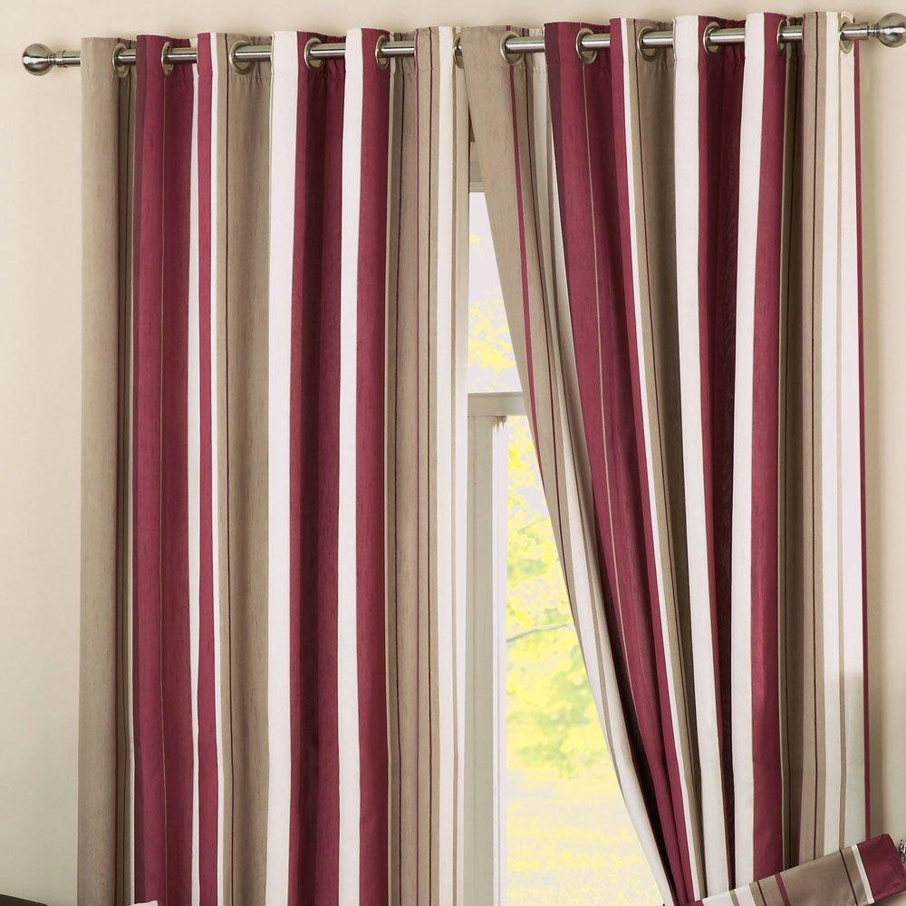 Dreams 'n' Drapes Whitworth Vorhänge mit Ösen, Textil, Natur, Curtains  90  Width x 72  Drop (229 x 183cm) B004W1NEHE Vorhnge