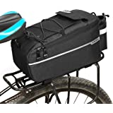 Lixada Insulated Trunk Cooler Bag for Warm or Cold Items,Bicycle Rear Rack Storage Luggage,Reflective MTB Bike Pannier…