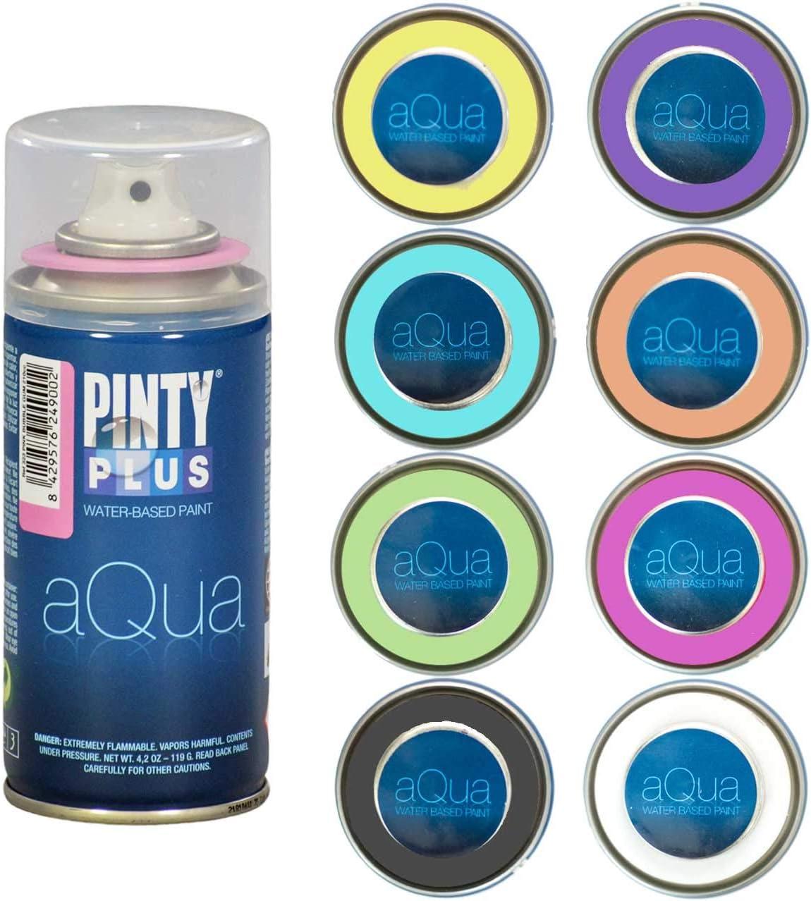 Pintyplus Aqua Spray Paint Set of Eight