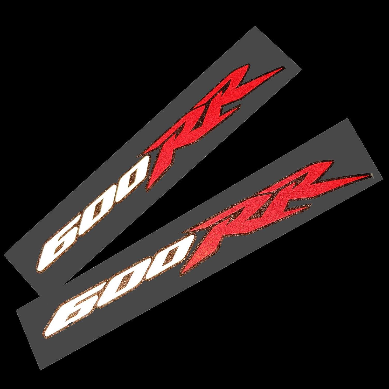 Aufkleber Cbr 600 Rr Rot Weiß Schwarz 2 Stück Auto