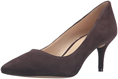 Nine West Womens Margot Suede Pointed Toe Classic Pumps Dark Espresso Size 8.0