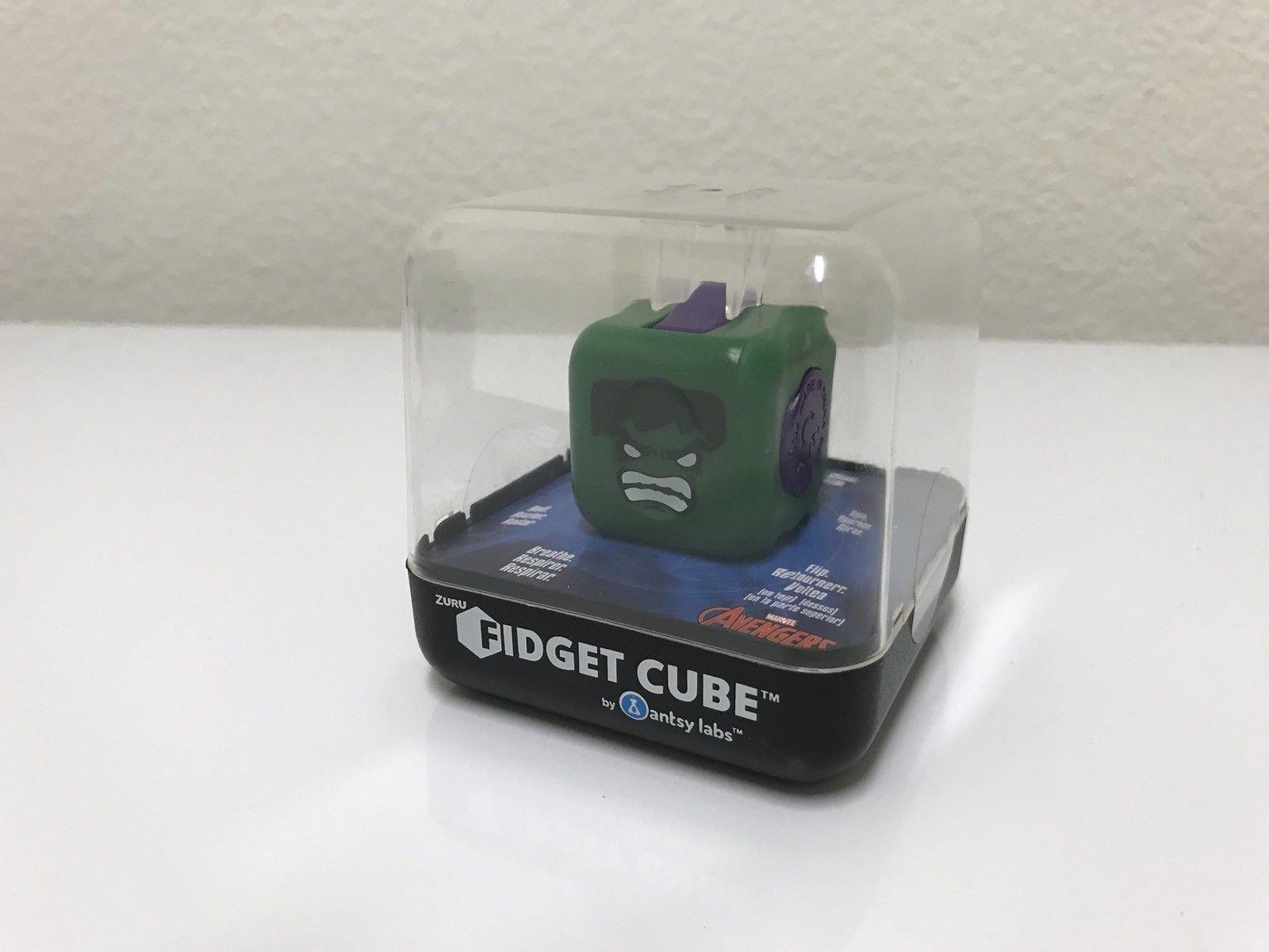 New! ZURU Fidget Cube by Antsy Labs - Marvel AVENGERS HULK