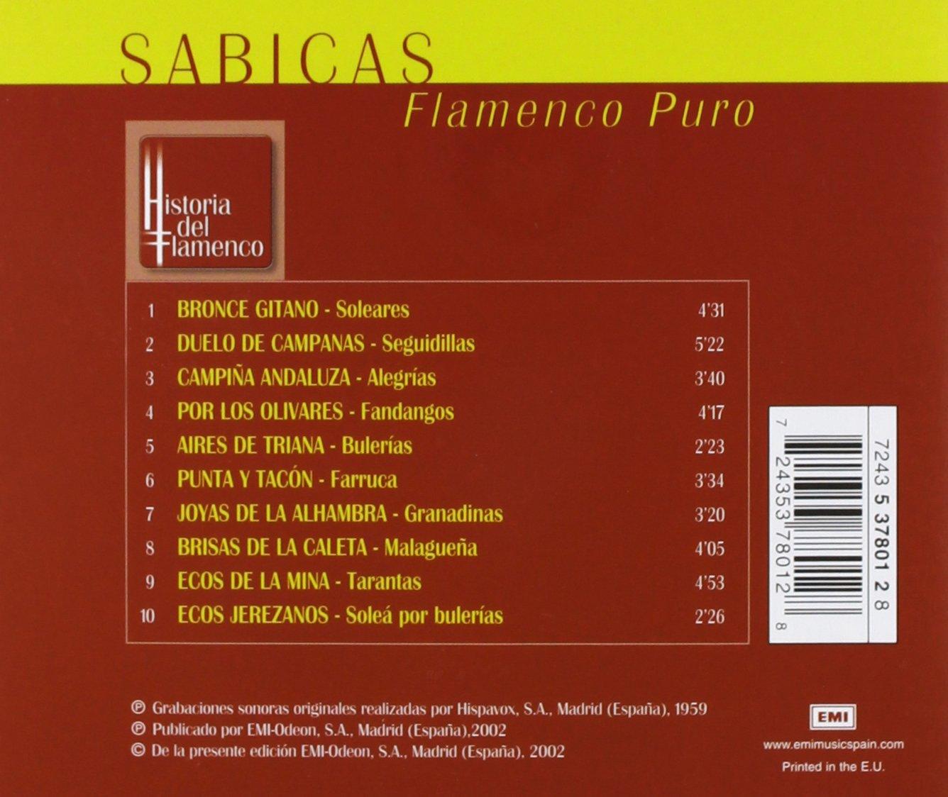 Flamenco Puro by Warner Spain
