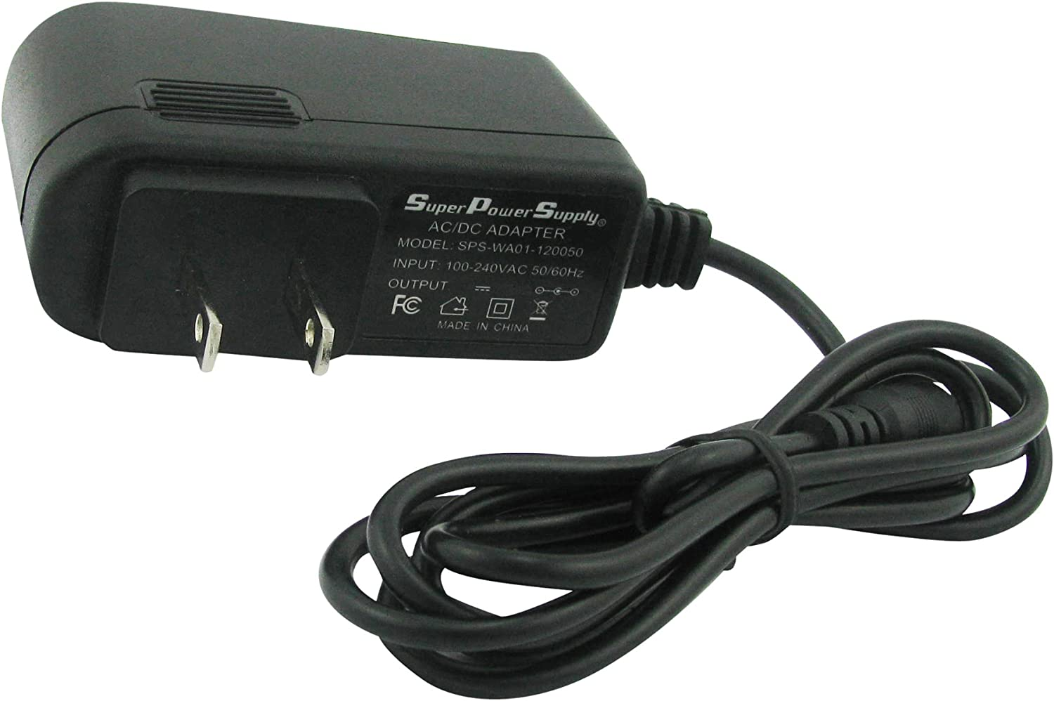 DC Adapter Power Supply Wall Charger US Plug 1500mA 5.5mm x 2.1mm 9V 1.5A AC