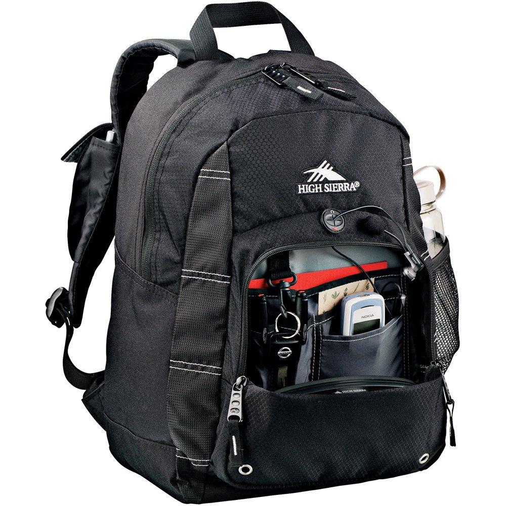 Amazon.com   High Sierra® Impact Daypack Backpack - Black   Hiking Daypacks    Sports   Outdoors ede6665397