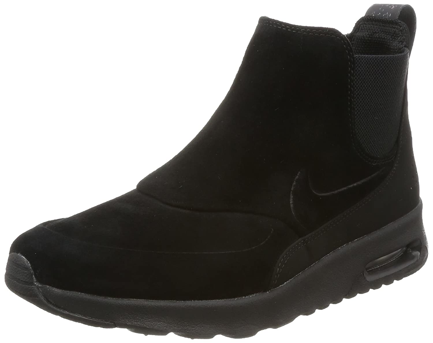 Details about Nike Air Max Thea Mid Suede Women's Lifestyle Shoes 859550 002, Triple Black