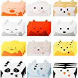 36 Pieces Cute Animal Greeting Cards Lovely Thank You Card Cartoon Animal Stationary Paper Letter Writing Paper Animal…