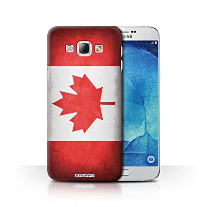premium selection 97f6f 00db5 STUFF4 Phone Case / Cover for Samsung Galaxy A8 / Canada/Canadian ...