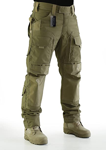 89c05eecbc64 ZAPT Tactical Molle Ripstop Combat Trousers Army Multicam A-TACS LE Camo  Pants for