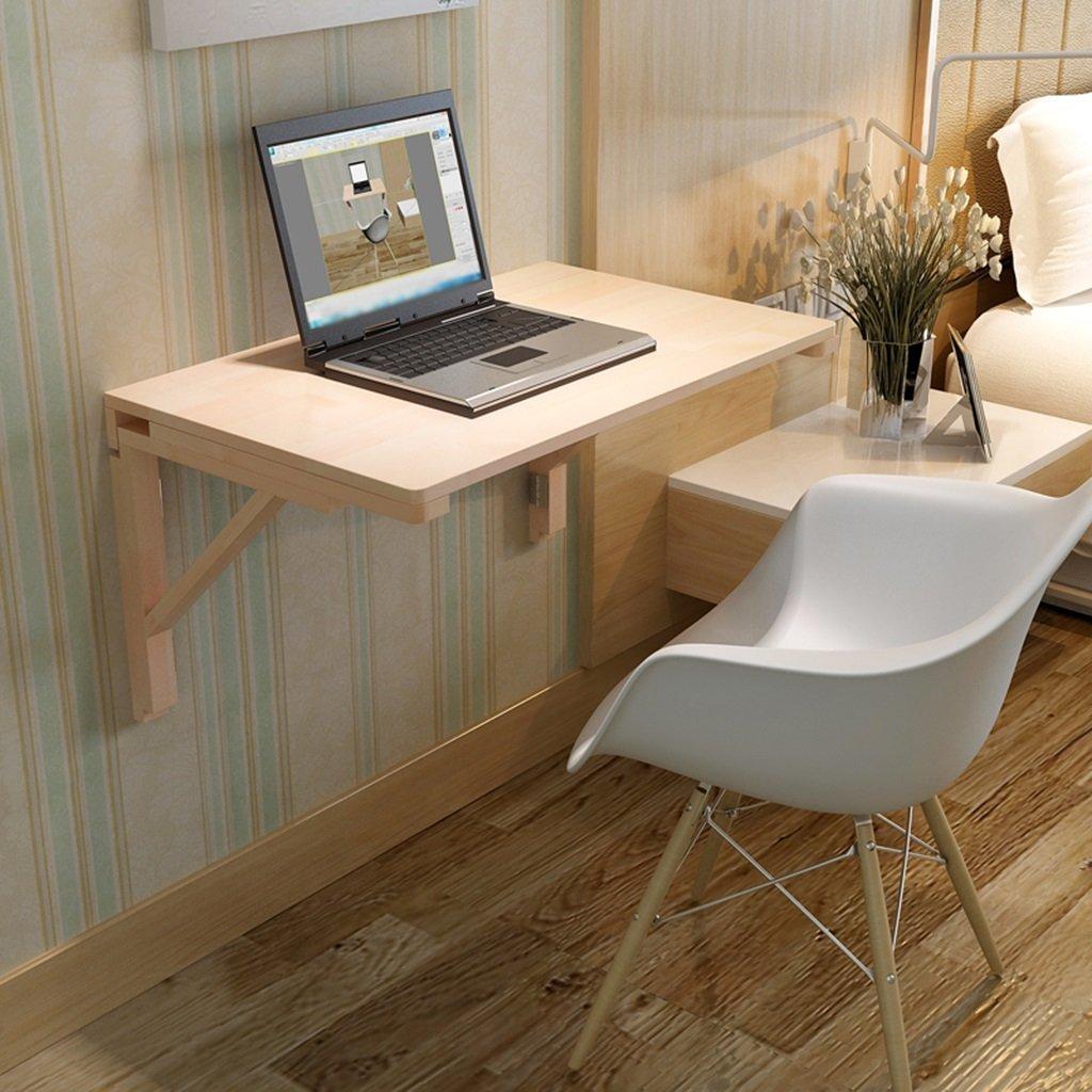 ソリッドウッド壁掛けテーブルダイニングテーブル壁折りたたみ式コンピュータデスク研究テーブル ( サイズ さいず : 50cm*30cm ) B07BT4JTGX50cm*30cm