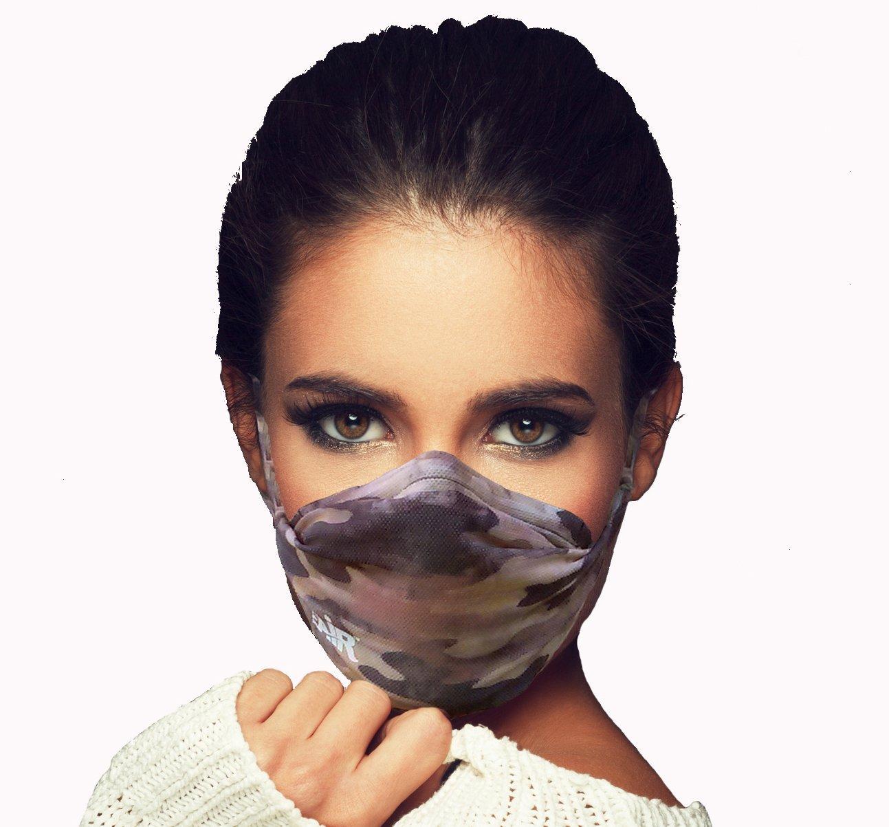 MyAir Comfort Mask, Starter Kit in Desert Camo - Made in USA.