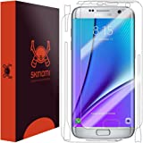 Skinomi TechSkin - Schutzfolie für Samsung Galaxy S7 edge (Vorder- und Rückseite)