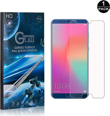 SONWO Cristal Templado Huawei Honor 10, Anti-burbujas, Anti ...