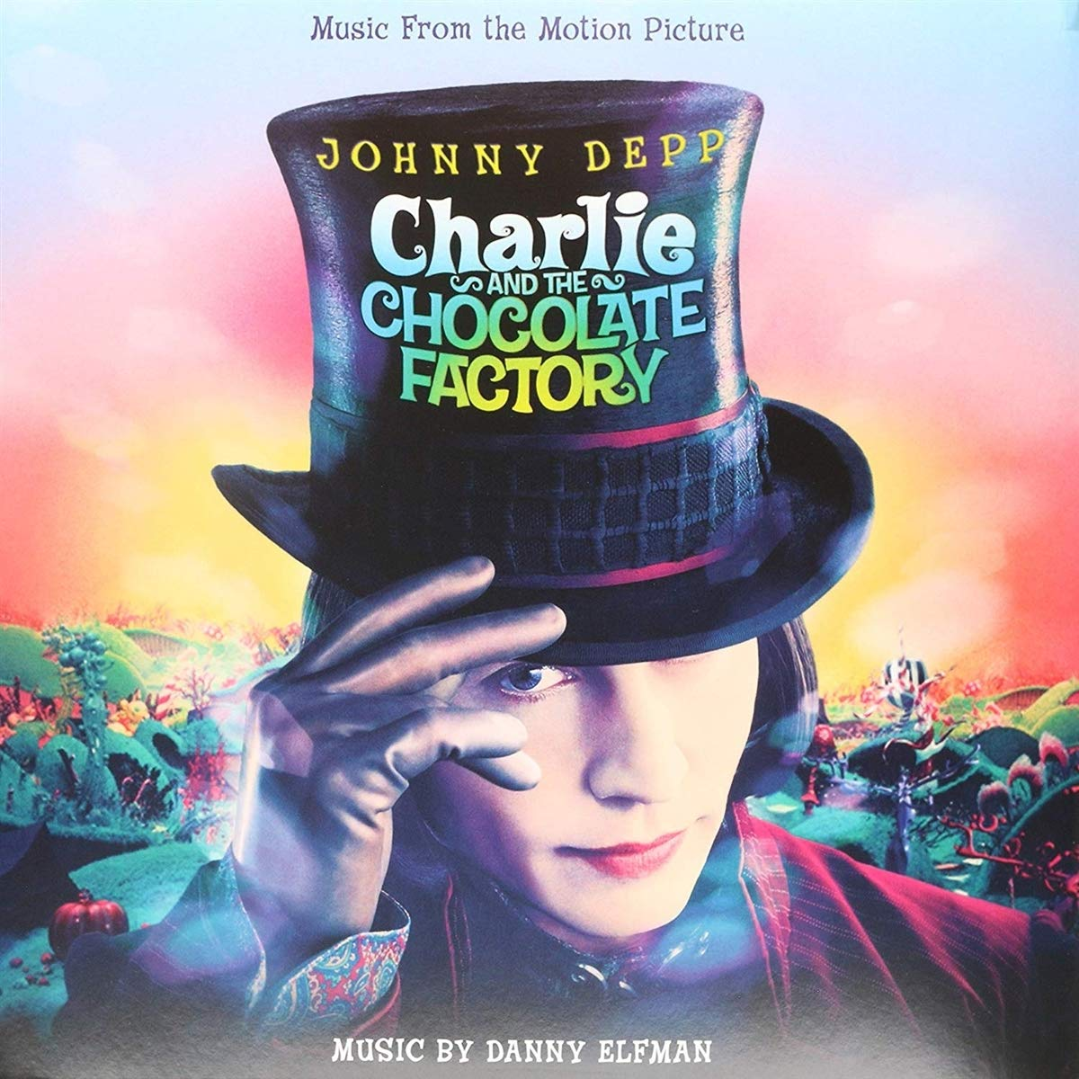 Charlie and the Chocolate Factory (Ost)-Marbled [Vinyl LP] - O.S.T., Danny  Elfman: Amazon.de: Musik