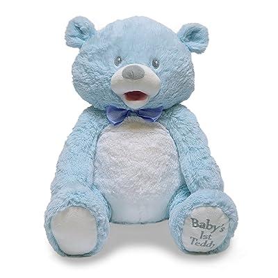 Baby's 1st Singin Teddie Blue: Toys & Games