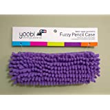 Fuzzy Pencil Case Purple