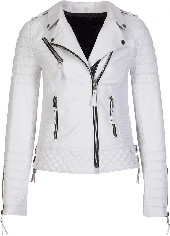 Kingdom Leather Women Leather Jacket Coat Genuine Lambskin Pure Leather Bomber Biker Jacket XW441