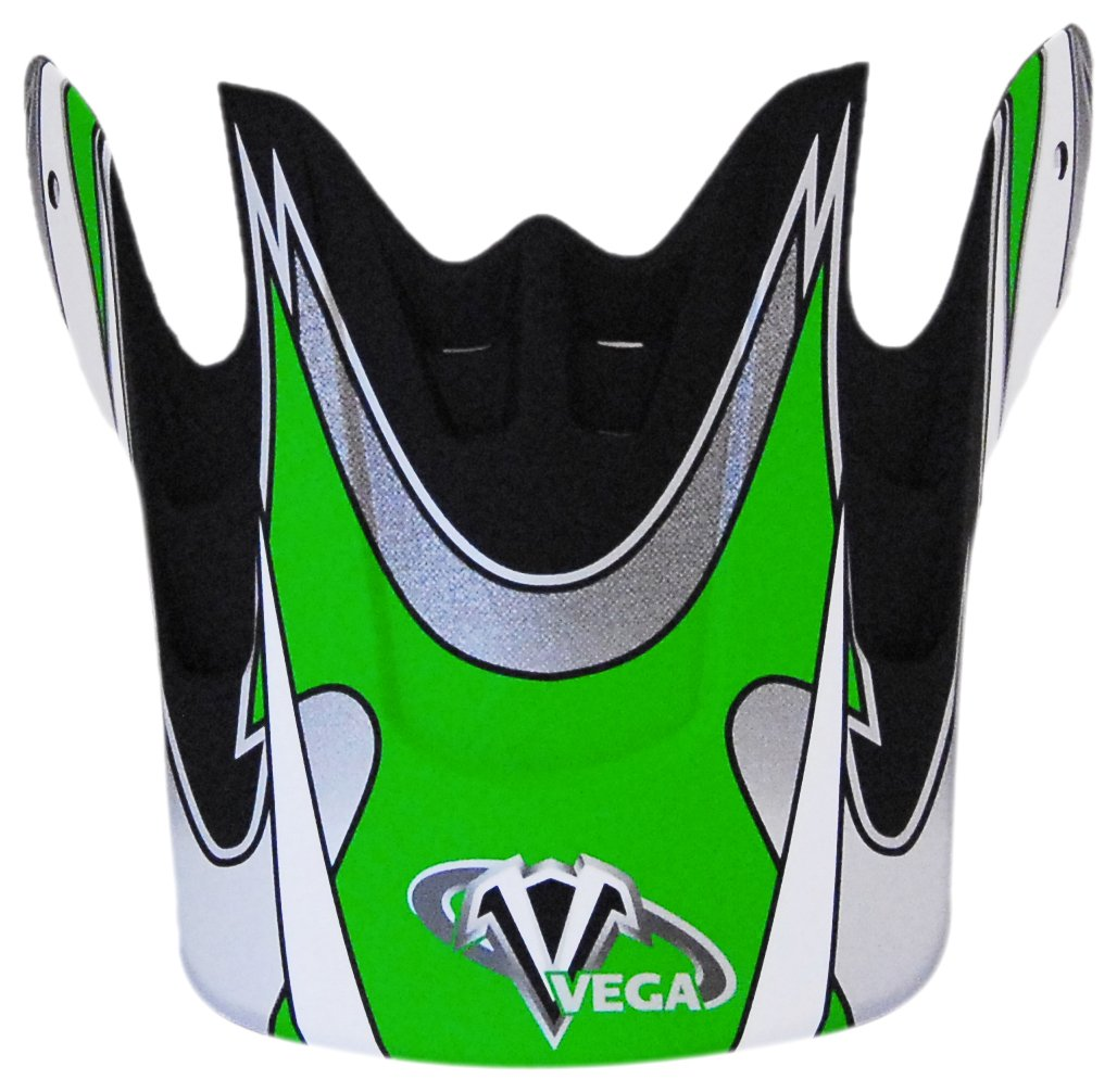 Vega Graphic Replacement Visor for Mojave Jr Black Off-Road Helmet