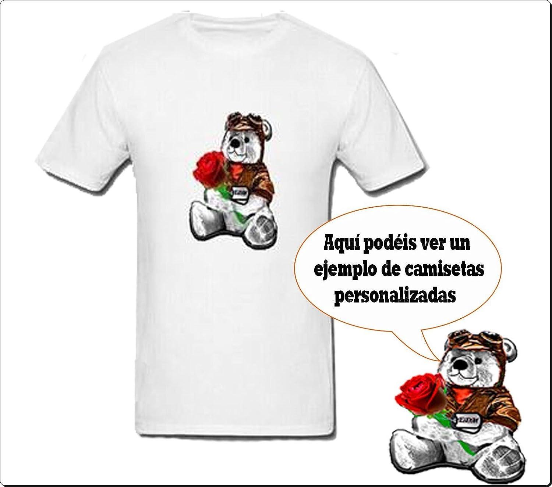 Camiseta Personalizada Sublimación con un texto y/o imagen: Amazon.es: Deportes y aire libre