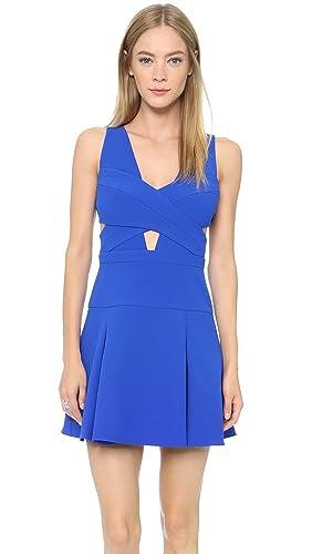 BCBGMAXAZRIA Women's Harlie Cutout Dress