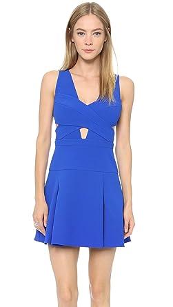 e8ff15a11db090 Amazon.com: BCBGMAXAZRIA Women's Harlie Cutout Dress, Royal Blue, 8 ...