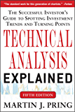 Technical Analysis Explained, Fifth Edition: The Successful Investor's Guide to Spotting Investment Trends and Turning Points (Business Books)