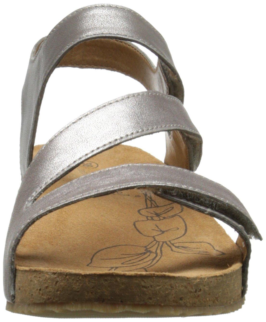 Josef Seibel Women's Tonga 25 dress Sandal, Cristal, 41 EU/10-10.5 M US by Josef Seibel (Image #4)