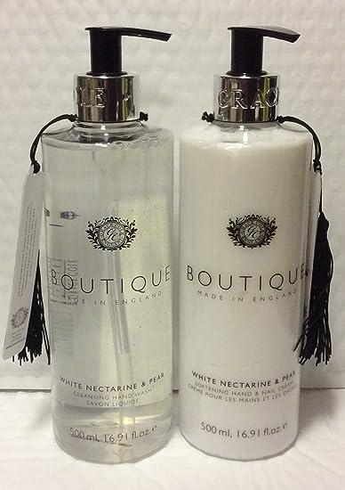 Amazon com : Boutique White Nectarine & Pear Hand Wash 16 9