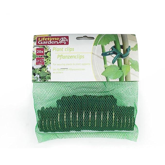 JYCRA Pinzas de resorte para plantas y vid, reutilizables, para ...