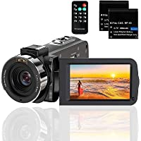 Video Camera Camcorder Full HD 1080P 36MP 30FPS Digital YouTube Vlogging Camera Video Recorder with Night Vision 3.0…