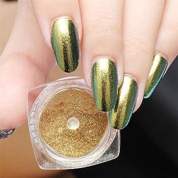 Amazon 1box Nail Mirror Effect Powder Polishing For Nails Art