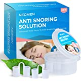 Neomen® Snore Stopper Nose Vents - Set of 4 Premium Anti Snoring Sleep Aid Devices - Best Anti Snore Solution for Stop Snoring Naturally and Instantly!